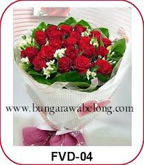 buket mawar valentine