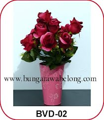 Bunga Valentine Artificial